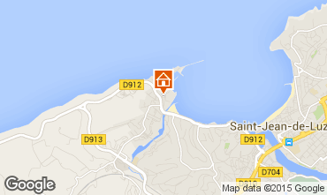 Kaart Saint Jean de Luz Appartement 9306