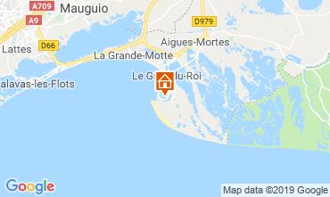 Kaart Le Grau du Roi Huis 118177
