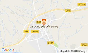 Kaart La Londe les Maures Villa 97056