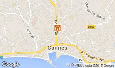 Kaart Cannes Appartement 100603