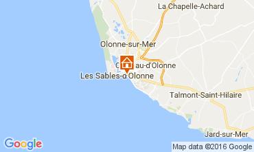 Kaart Les  Sables d'Olonne Appartement 76224