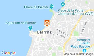 Kaart Biarritz Appartement 119058
