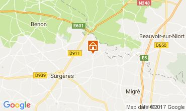 Kaart La Rochelle Villa 107743