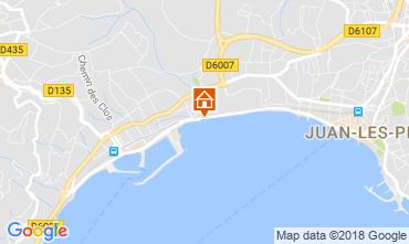 Kaart Juan les Pins Appartement 115401