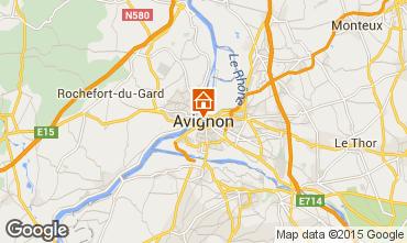 Kaart Avignon Villa 83403