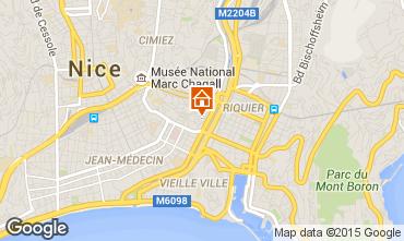 Kaart Nice Appartement 75359