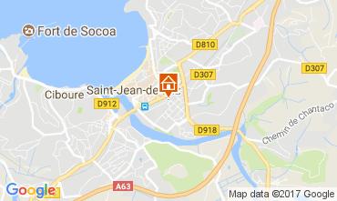 Kaart Saint Jean de Luz Appartement 112759