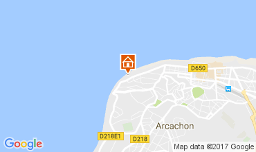 Kaart Arcachon Appartement 108450