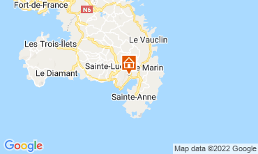 Kaart Le Marin Villa 73475