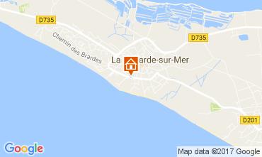 Kaart La Couarde-sur-Mer Studio 82423