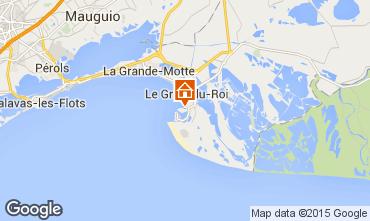 Kaart Port Camargue Studio 68355