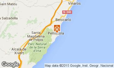Kaart Peñíscola Appartement 56228