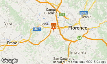 Kaart Florence Appartement 14820