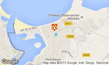 Kaart Hendaye Huis 9352