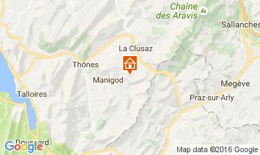 Kaart La Clusaz Appartement 843
