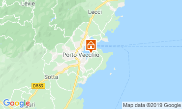 Kaart Porto Vecchio Villa 84149