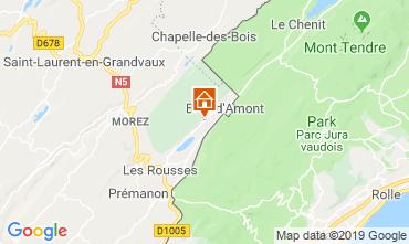 Kaart Les Rousses Appartement 3758