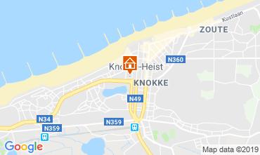 Kaart Knokke-het-Zoute Appartement 107670