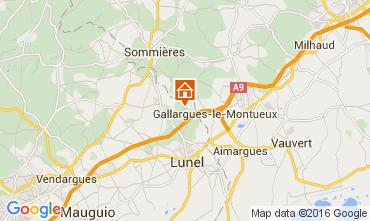 Kaart Montpellier Vakantiehuis 103269