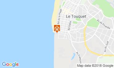 Kaart Le Touquet Appartement 81592