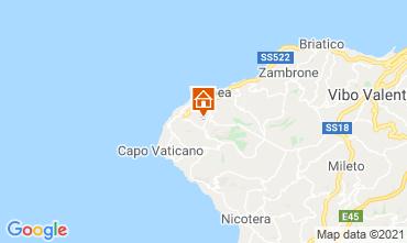 Kaart Tropea Appartement 56650
