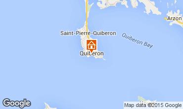 Kaart Quiberon Appartement 82263
