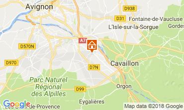 Kaart Saint Rémy de Provence Vakantiehuis 113890