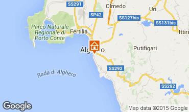 Kaart Alghero Appartement 92895