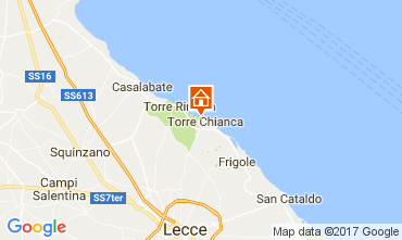 Kaart Lecce Villa 110136