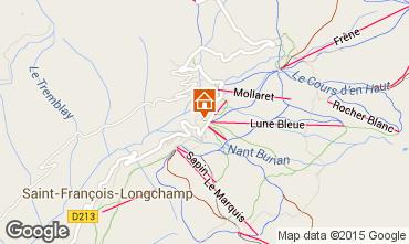 Kaart Saint François Longchamp Appartement 66174