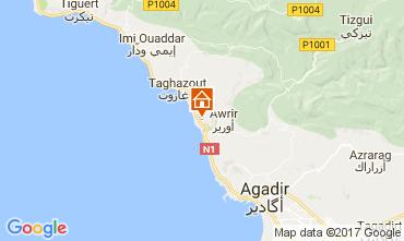 Kaart Agadir Bed & breakfast 111307