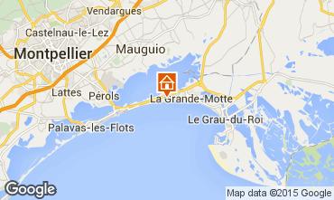 Kaart La Grande Motte Villa 75574