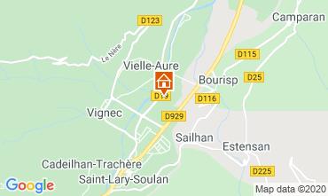 Kaart Saint Lary Soulan Appartement 4397