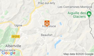 Kaart Les Saisies Chalet 2713