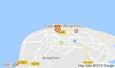Kaart Arcachon Appartement 113009