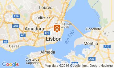 Kaart Lissabon Appartement 106641