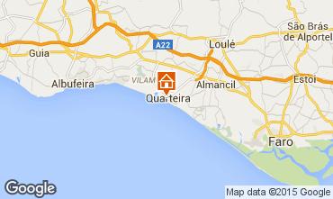 Kaart Quarteira Appartement 75911