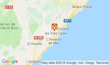 Kaart La Ametlla de Mar Villa 118601