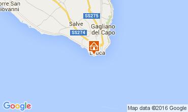 Kaart Santa Maria di Leuca Appartement 104223