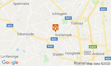 Kaart Brugge Villa 117314