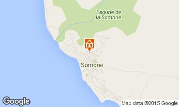 Kaart La Somone Appartement 69600