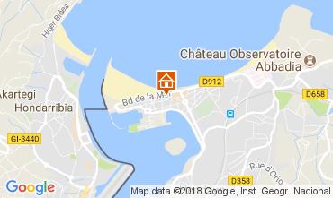 Kaart Hendaye Appartement 112931