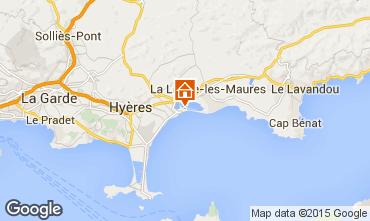 Kaart Hyères Appartement 28370