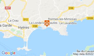 Kaart La Londe les Maures Appartement 61806