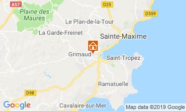 Kaart Saint Tropez Studio 118192