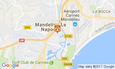 Kaart Mandelieu la Napoule Appartement 70823