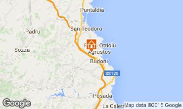 Kaart San Teodoro Appartement 83258