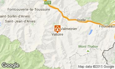 Kaart Valloire Appartement 82534