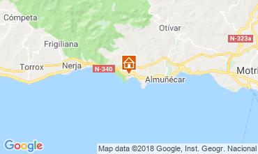 Kaart Almuñecar Appartement 116613