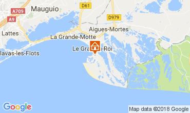 Kaart Le Grau du Roi Villa 90171